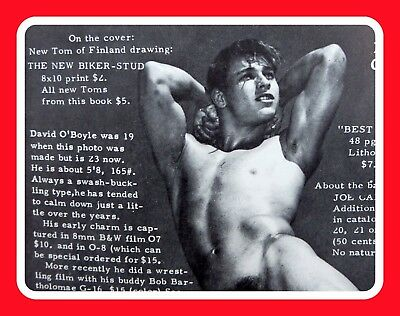 Physique Pictorial Vol19 No1 Male Semi Nude Gay Tom Finland Fratboy Teen Young