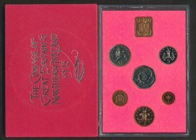 Great Britain: 1973 6-Coin Proof Set, with EEC Commemorative 50p