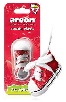 Air Freshener Areon Hanging Shoe Quality Perfume STRAWBERRY Car Scent NEW