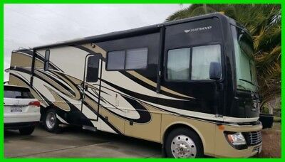 2010 Fleetwood Bounder 33U 34' Class A RV 8.1L V8 Gas Slide Out Washer Dryer CA