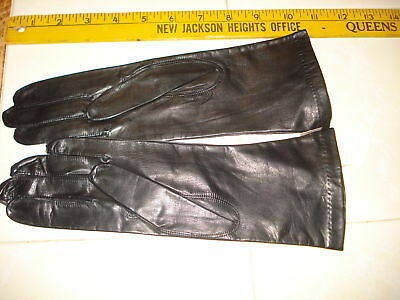 "Vintage Ladies Leather Gloves New Old Stock ""lord & Taylor's"""