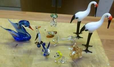 Selection of Glass Animals