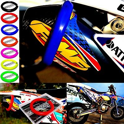 Universal Supermoto Exhaust Protector Slider Silencer Cover different colors