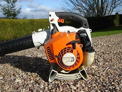 Stihl Bg 65 Petrol Leaf Blower Hedge Cutter Collector Ride On Mower Litter 85 86