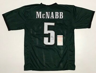 98a18637205 DONOVAN McNABB AUTOGRAPHED EAGLES JERSEY with JSA WITNESSED COA #WP925526