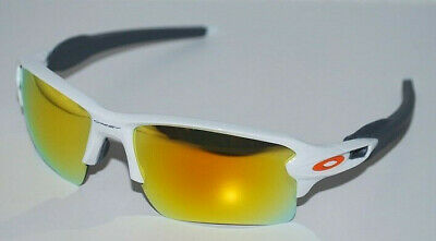 1ab7273813 Oakley Flak 2.0 XL Prizm Sunglasses OO9188-19 Polished White Fire Iridium  NEW