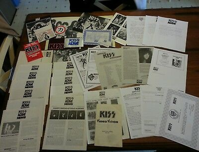 Kiss army kit, rare KISS ALIVE Kit huge
