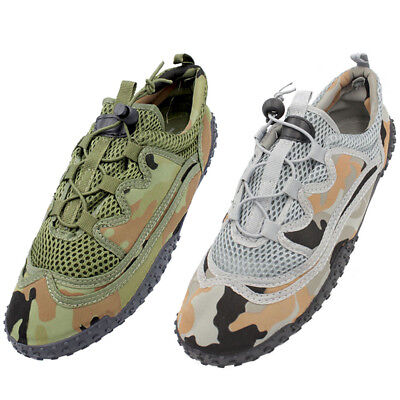 Men Water Shoes Quick Dry Sports Camo Army Aqua Socks Beach Swim Surf Pool