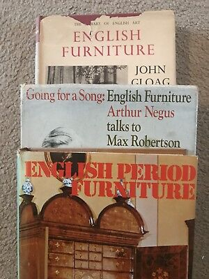 English Period Furniture Three Reference Books Negus Hayward Gloag