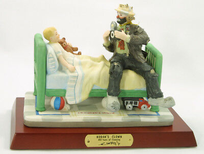 Emmett Kelly Jr - Kodak Bedside Clown Hospital Visit w/ camera #9913