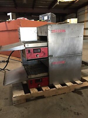 Conveyor pizza oven electric Blodgett used working pizza oven