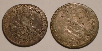 1682 (2) Old Silver Coins of Poland ?