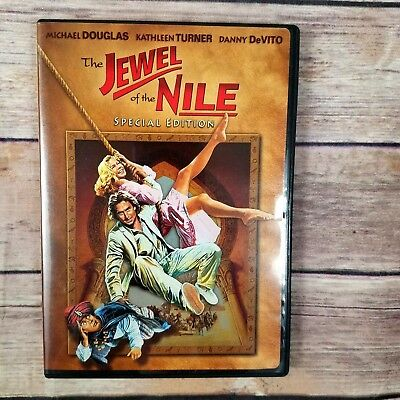 Jewel of the Nile DVD Special Edition Danny Devito Action Adventure 80s Movie