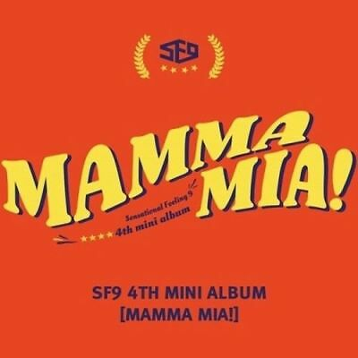 SF9  [Mamma Mia!] 4th Mini Album CD+Booklet+PhotoCard+PostCard Sealed KPOP