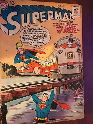 Superman  #123   *1st Supergirl Tryout*