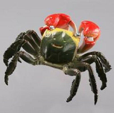 Kaiyodo Museum Capsule Q  Red Claw Clawed Mudflat Crab Figure Nice!