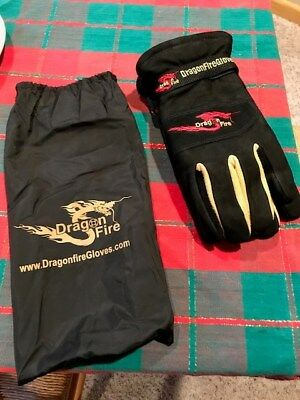 DRAGON FIRE GLOVE ALPHA-X GAUNLET NFPA Structural Size X-LARGE