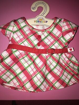Build A Bear Christmas Out Fit Brand New With Tags And Clothes Hanger