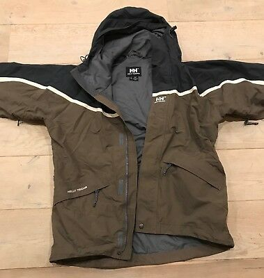 Helly Hansen ski jacket (M) brown / grey