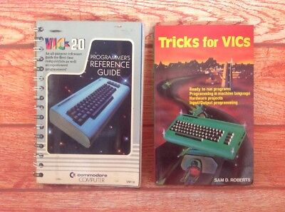 TRICKS FOR VICS COMMODORE VIC-20 programming Manual Programmers Reference Guide
