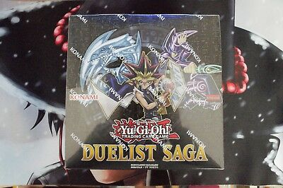 Yu-Gi-Oh! Duelist Saga Display Box (15 Booster) DEUTSCH ! 1.AUFLAGE ! NEU