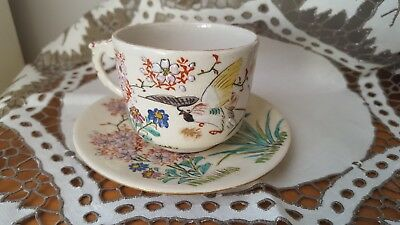 chinese cup and saucer