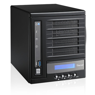 Thecus N4560 4 Bay NAS HDMI Out, Mobile Control, Media Streaming