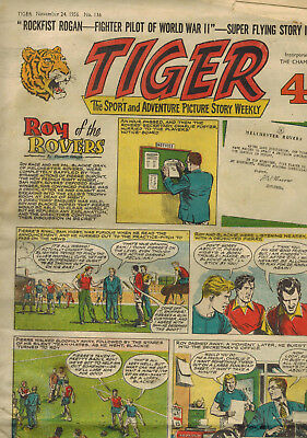 TIGER COMIC No. 116 from 1956