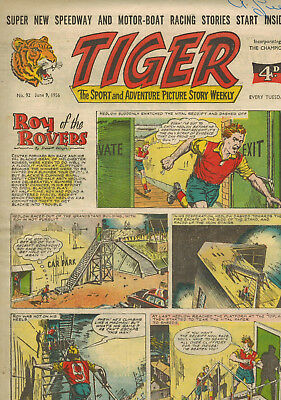 TIGER COMIC No. 92 from 1956