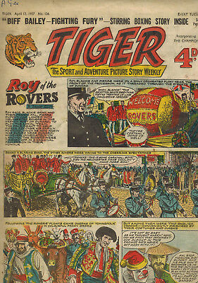 TIGER COMIC No. 136 from 1957