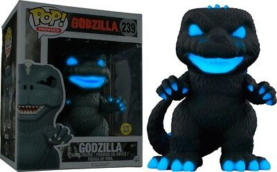 Funko Pop! Godzilla Atomic Breath GID PX Exclusive 6' Figure Rare