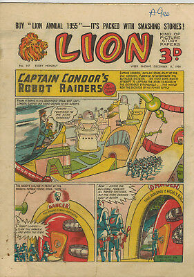 LION COMIC No. 147 from 1954