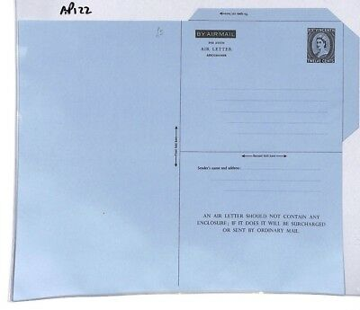 AP122 St Vincent Airmail Air Letter Postal Stationery Cover PTS