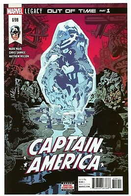 Captain America  #698        * First Print *     Legacy    Nm
