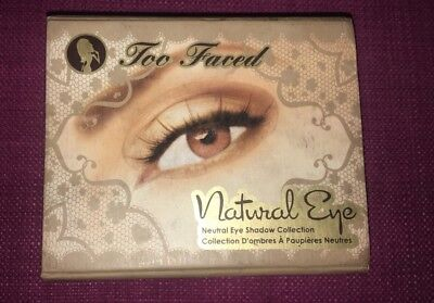 Palette Too Faced Natural Eye