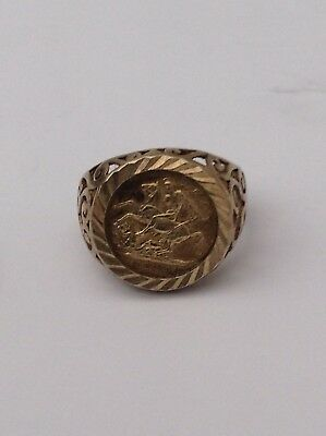 Silver And Gold George And Dragon Ring