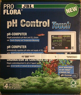 JBL ProFlora pH-Control Touch Mess-Steuercomputer zur Kontrolle der CO2-pH-Wert