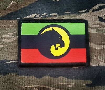 Wakanda Army Flag 2x3 Tactical Hook Military Morale Patch Marvel Black Panther