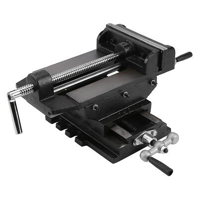 """6"""" Cross Slide Vise Drill Press Vises Clamp 2-Way Work Bench Top Mounting US"""