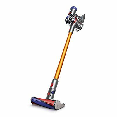 Dyson V8 fluffy SV10FF2 Cyclonic Stick & Handy Vacuum Cleaner Yellow F/S wTrack#