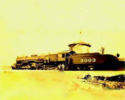 Brand New Crew Brand New ATSF 3003 Double Mallet Steamer 1911 Helendale, Ca.