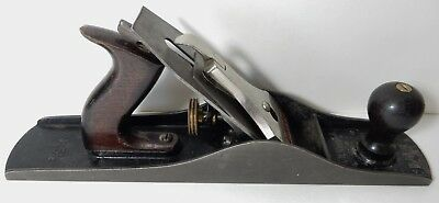 Old Stanley Bailey 5 1/2 Corrugated Wood Woodworking Plane