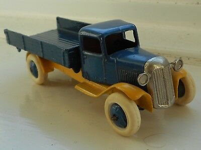 Dinky 25E Tipping Wagon, Pre-War lorry truck, repainted, parts for restoration