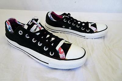 8beb29ebd0a CONVERSE ALL STAR bas -Rise Basket Noir Double Coque UK 6   EUR 39 023
