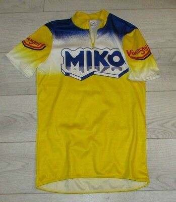Maillot Cycliste Vintage Miko Vivagel Taille M