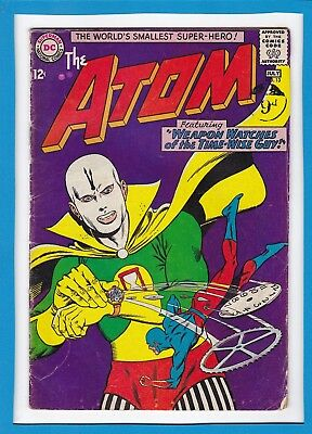 "The Atom #13_July 1964_Good/very Good_""weapon Watches Of The Time-Wise Guy""!"