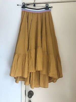 Handmade Skirt From Vintage Fabric Size S Boho Retro