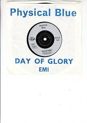 Physical Blue 'days Of Glory' Uk Synthpop Private 1981`
