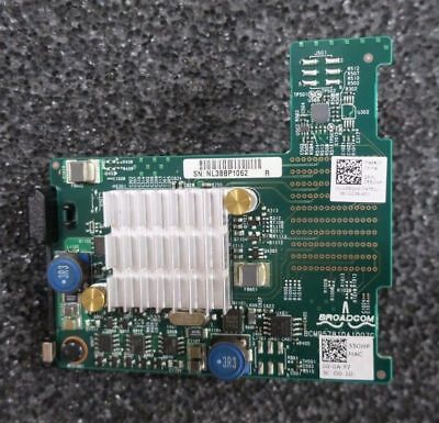 Dell Broadcom 57810S Dual Port 10Gb BASE-T Server Adapter for Blade 55GHP 055GHP