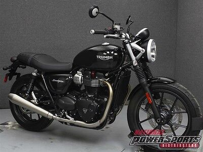 Triumph STREET TWIN W/ABS  2017 TRIUMPH STREET TWIN W/ABS New